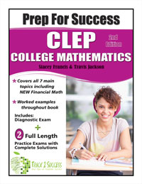 Prep for Success CLEP College Math Study Guide 2nd Edition